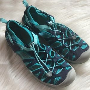 Keen blue sandals, 37 / 7 (youth 5)